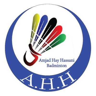 logo Amjad Hay Hassani Badminton