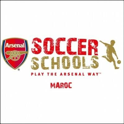logo Arsenal Soccer School Maroc