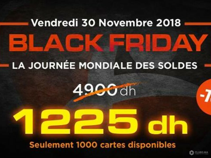 Black Friday du sport au Maroc avec City Club
