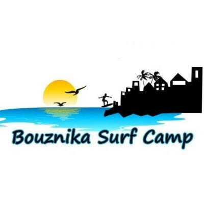logo Bouznika Surf Camp