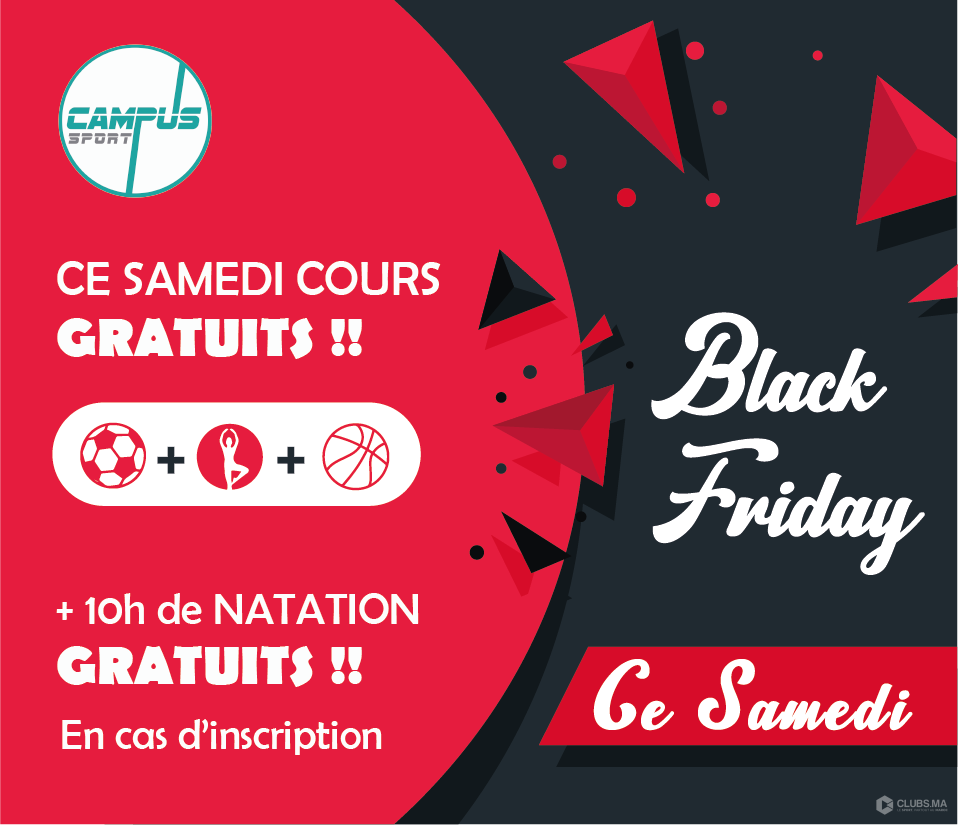 Campus Sport fête le BLACKFRIDAY 2018