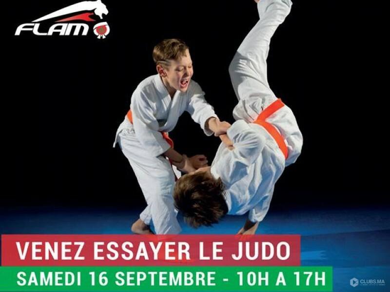 Chez Flam Maroc, venez essayer le judo à Marrakech