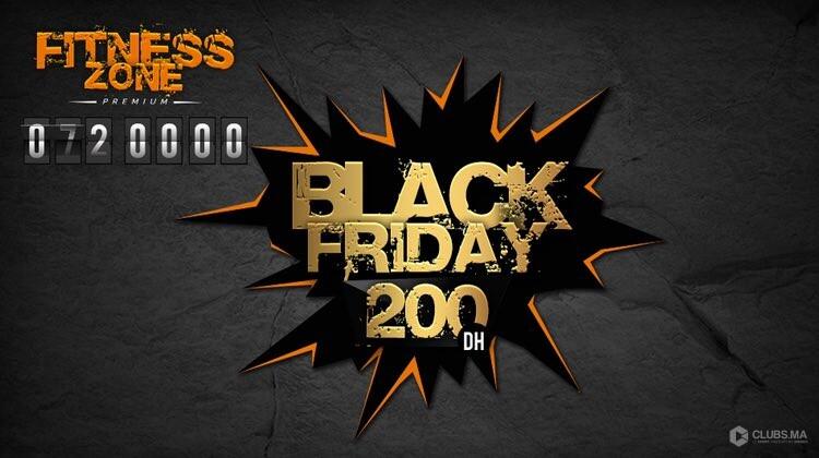 Journée BLACK FRIDAY 2018 chez Fitness Zone