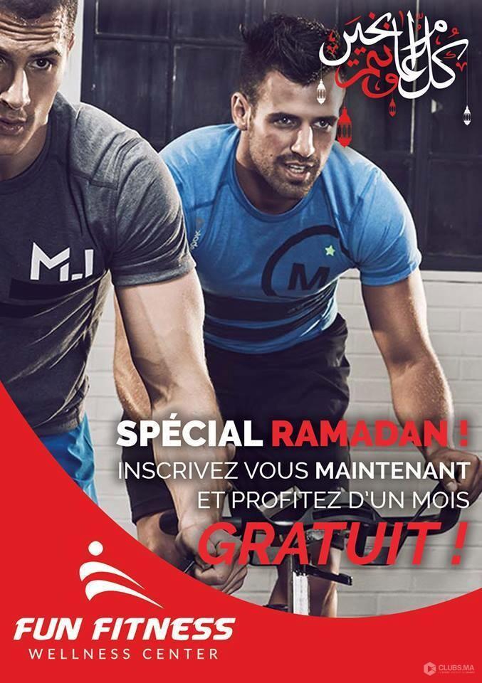 Fun Fitness Marrakech : Promotion spécial Ramadan 2019