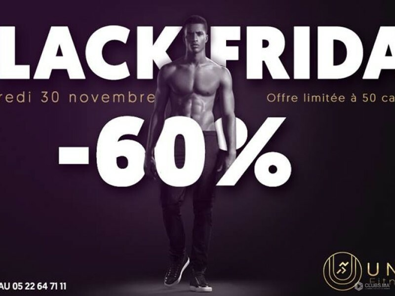 La grande promo Black Friday 2018 chez Unique Fitness Clubs