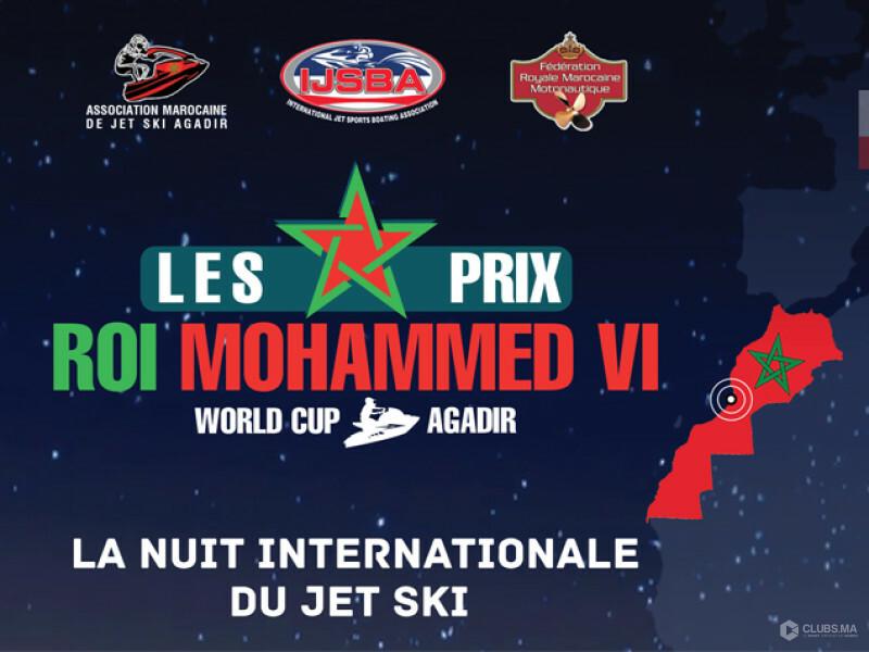 Les Prix Mohammed VI - La nuit du Jet Ski à Agadir 2019