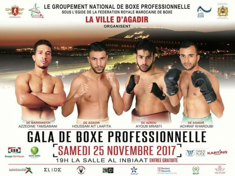 Ne ratez pas le Gala de Boxe Professionnelle