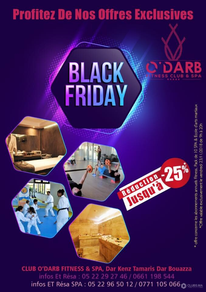 BLACK FRIDAY 2018 de O'Darb Club