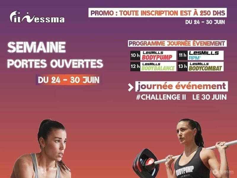 Portes ouvertes 2019 chez Fitnessma