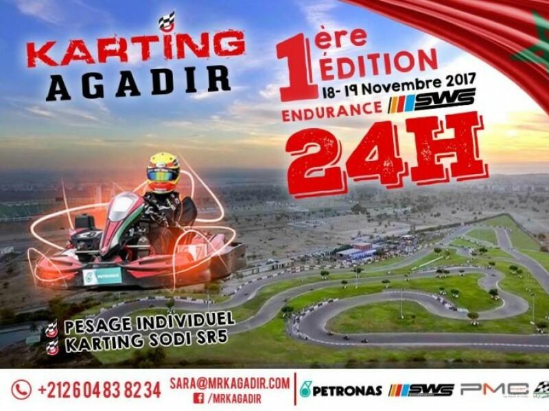 Première édition des 24 Heures du Karting d'Agadir