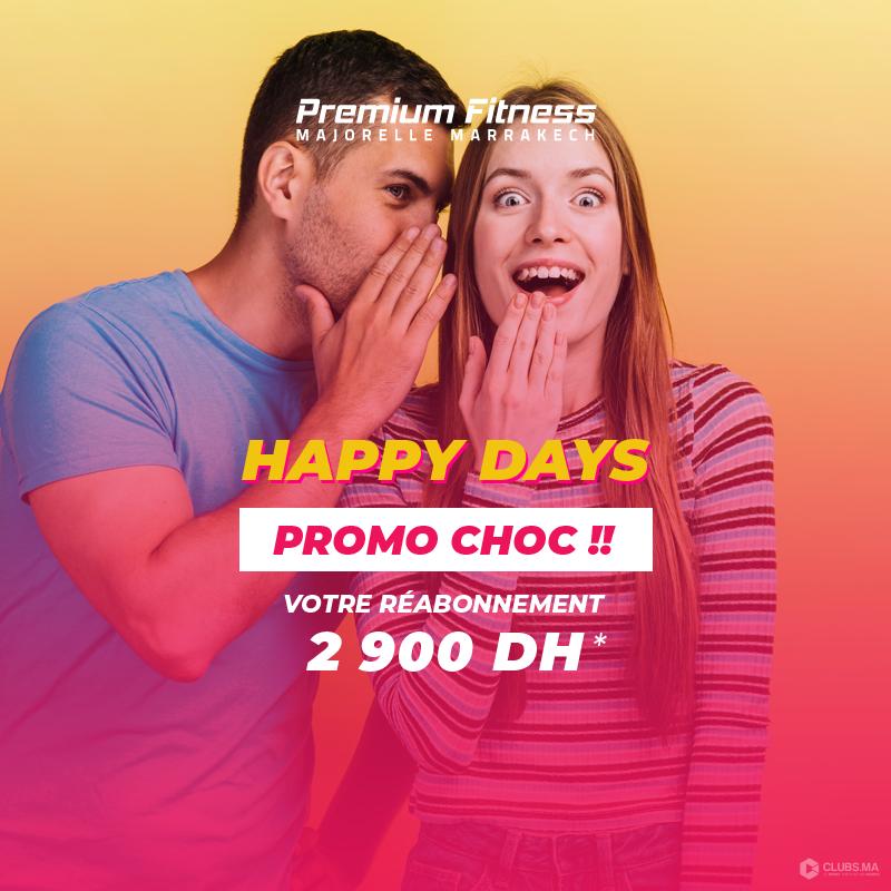 Happy days 2019 chez Premium Fitness Majorelle