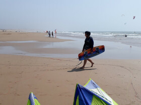 The Atlantic Life cours surf et kitesurfing essaouira Essaouira