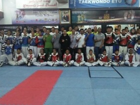 Black Tigers section 1 salle de taekwondo sale Salé