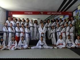 Black Tigers section 2 salle de taekwondo sale Salé