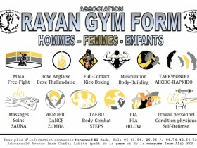 RAYAN GYM FORM à Fès