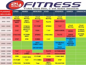 24 Heures Fitness  24 heure fitness Salé