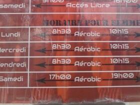 Gym Chadad 1 programme femme gym chadad Agadir