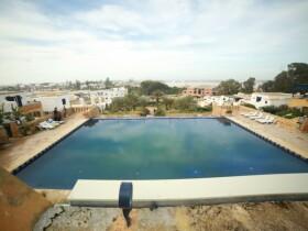 Centre Ghali (Oualidia Wellness) salle de fitness avec piscine Oualidia