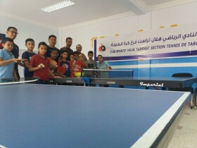 Club Sportif Hilal Tarrast de Tennis de Table club tennis de table inezgane enfant Inezgane