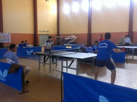 Club Sportif Hilal Tarrast de Tennis de Table entrainement tennis de table Inezgane