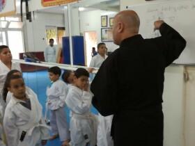 AST Agadir cours karaté pédagogique agadir Agadir